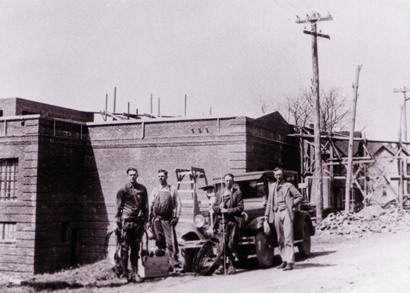 1927 Linecrew and model A